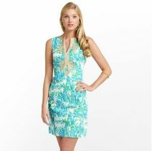 Lilly Pulitzer High Beam Janice Shift Dress